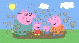 Peppa Pig Wallpaper For PC