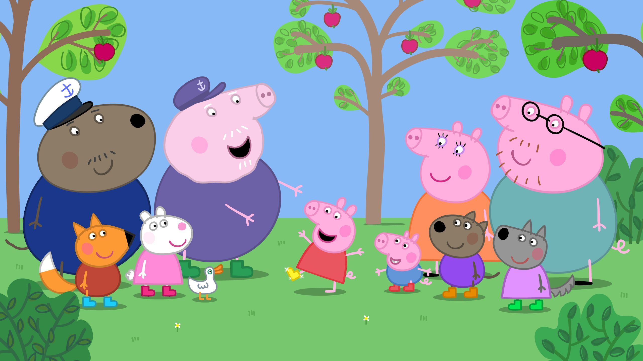Peppa Pig Wallpapers High Quality | Download Free