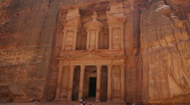 Petra In Jordan High Quality Wallpaper