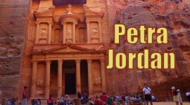 Petra In Jordan Wallpaper For Desktop