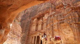 Petra In Jordan Wallpaper For PC
