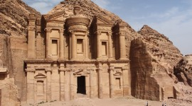 Petra In Jordan Wallpaper High Definition