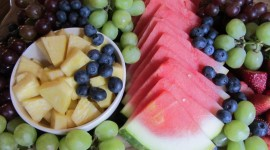 Plate Of Fruit Wallpaper Download