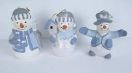 Porcelain Snowman Photo Download
