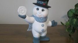 Porcelain Snowman Photo#1