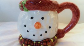 Porcelain Snowman Photo#2