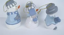 Porcelain Snowman Photo#3