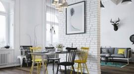 Scandinavian Style Wallpaper Background