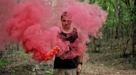 Smoke Bomb Wallpaper Download Free