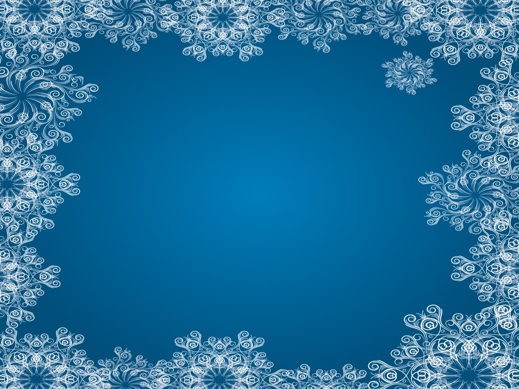 Snowflake Frame wallpapers HD