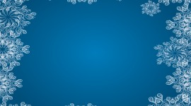 Snowflake Frame Best Wallpaper