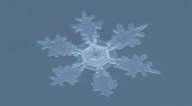 Snowflake Macro Wallpaper HD