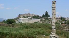 Temple Of Artemis Desktop Wallpaper