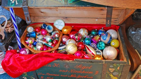 Vintage Christmas Decorations wallpapers high quality
