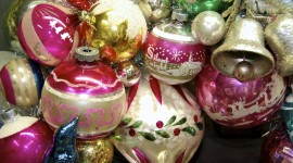Vintage Christmas Decorations Photo Download