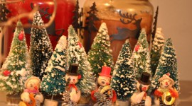 Vintage Christmas Decorations Photo Free