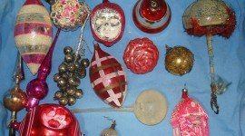 Vintage Christmas Decorations Photo Free#2