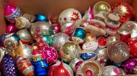 Vintage Christmas Decorations Pics