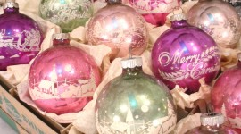 Vintage Christmas Decorations Wallpaper Free