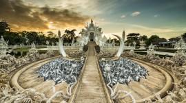 Wat Rong Khun Wallpaper For Desktop