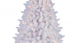 White Christmas Trees Wallpaper For Android#1