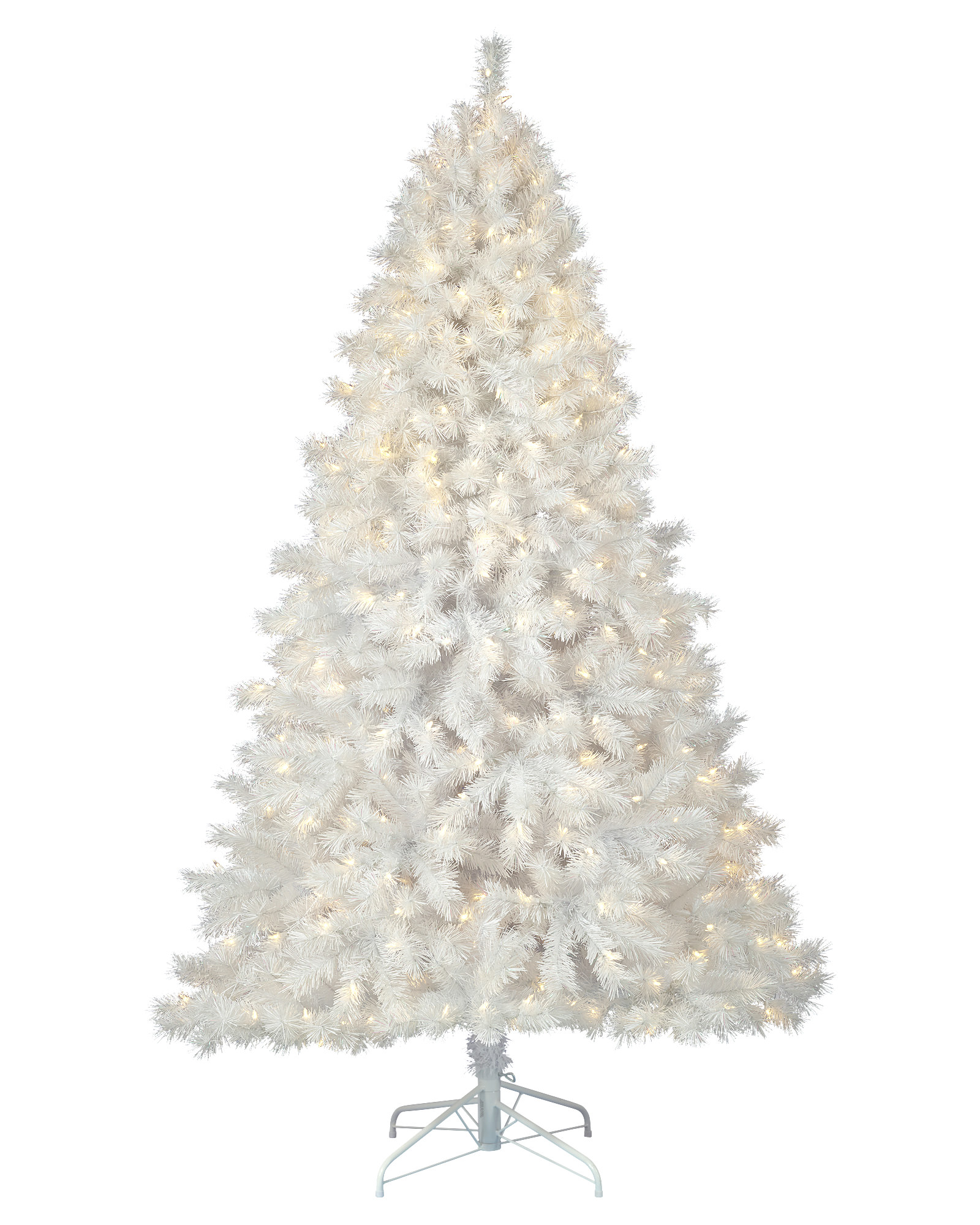 White Christmas Trees Wallpapers High Quality | Download Free