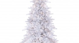 White Christmas Trees Wallpaper For IPhone#1