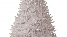 White Christmas Trees Wallpaper For IPhone#2