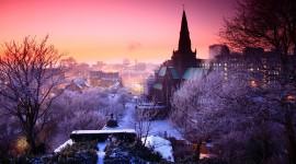 Winter Dawn Desktop Wallpaper#1