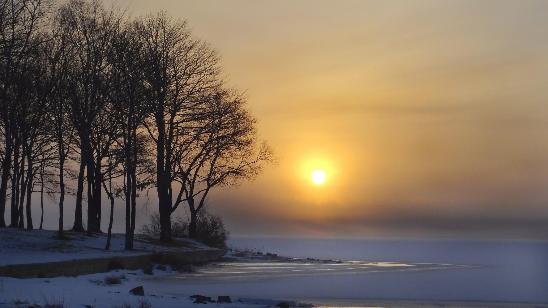 Winter Dawn Wallpaper For Desktop