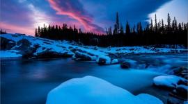 Winter Dawn Wallpaper For PC