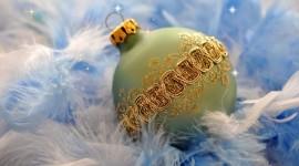 4K Christmas Balls Photo