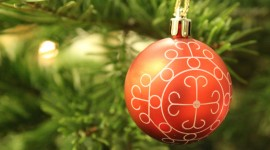 4K Christmas Balls Photo Download#1