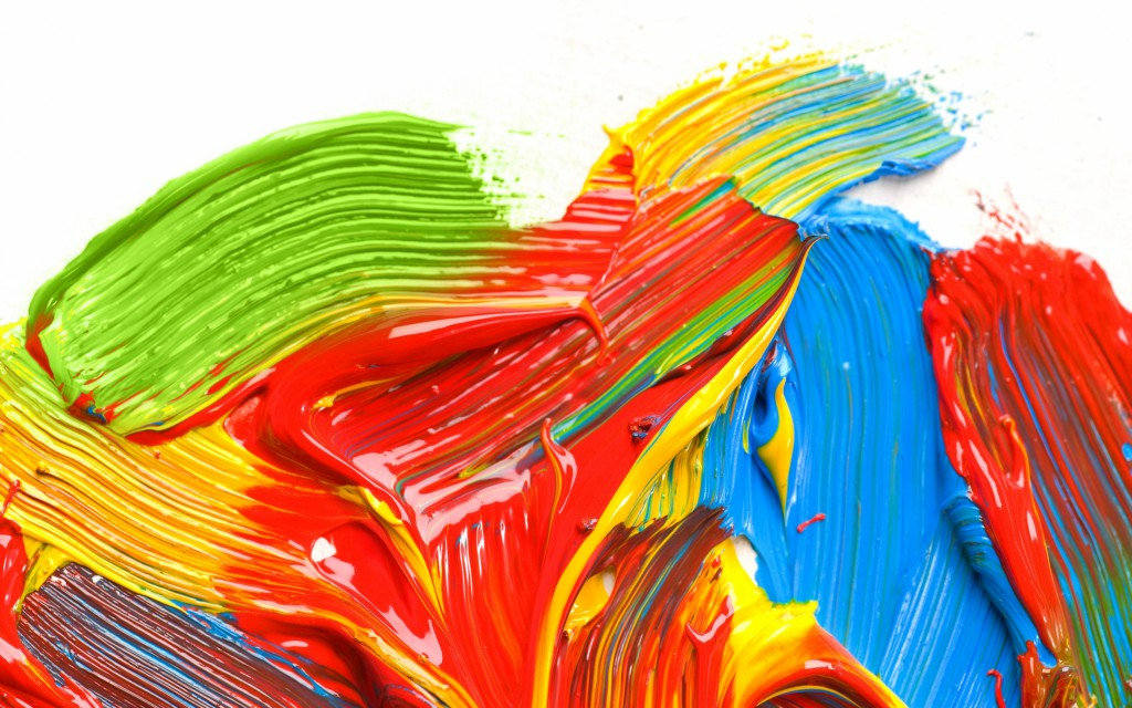 4K Colored Paint wallpapers HD