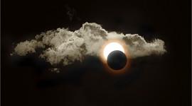 Annular Eclipse Desktop Wallpaper HD
