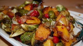 Baked Vegetables Wallpaper