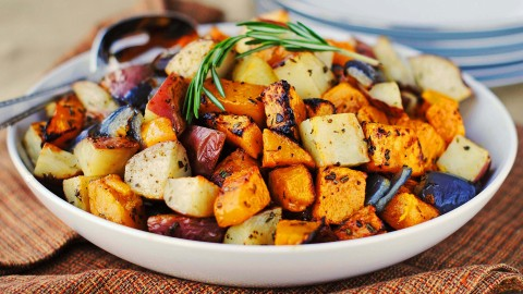 Baked Vegetables wallpapers high quality