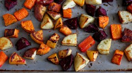 Baked Vegetables Wallpaper For Desktop