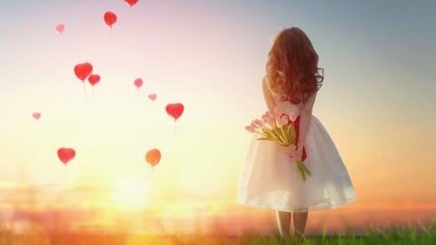 Balloon Heart wallpapers high quality