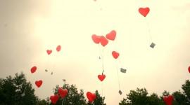 Balloon Heart Wallpaper