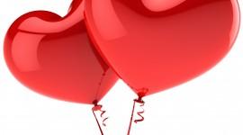 Balloon Heart Wallpaper For Desktop