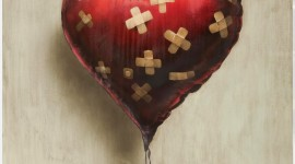 Balloon Heart Wallpaper For Mobile