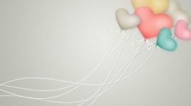 Balloon Heart Wallpaper Free
