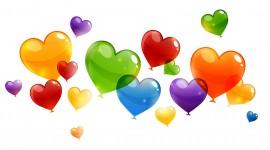 Balloon Heart Wallpaper Full HD
