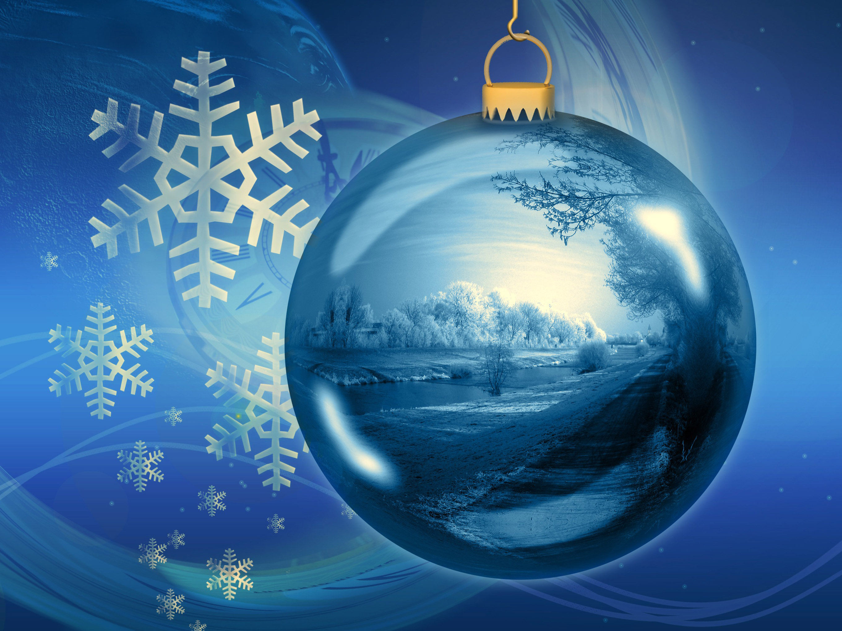 blue christmas balls wallpapers high quality download free - Blue Christmas Balls