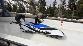Bobsled High Quality Wallpaper