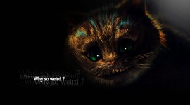 Cheshire Cat High Quality Wallpaper