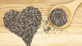 Chia Seeds Desktop Wallpaper HD