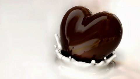 Chocolate Heart wallpapers high quality