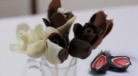Chocolate Roses Photo Free